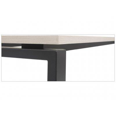 Стол NT 120x70 вяз натуральный/серый