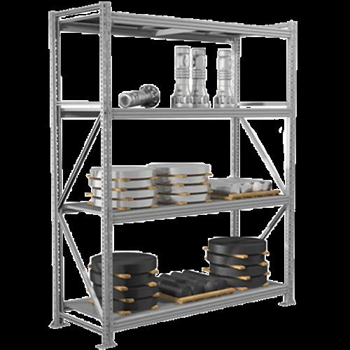 Металлический стеллаж MS Pro (3000 кг на секцию)