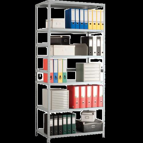 Металлический стеллаж MS Standart (500 кг на секцию)