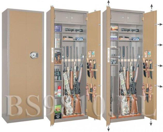 Оружейный сейф BS 9810 EL