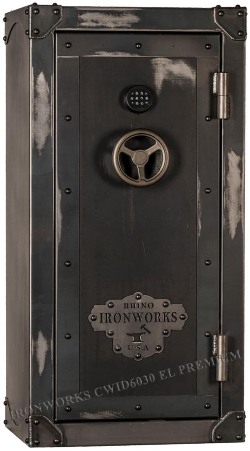 Оружейный сейф Rhino Ironworks® CWID6030 EL Premium