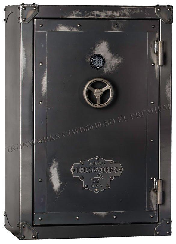 Оружейный сейф Rhino Ironworks® CIWD6040-SO EL Premium