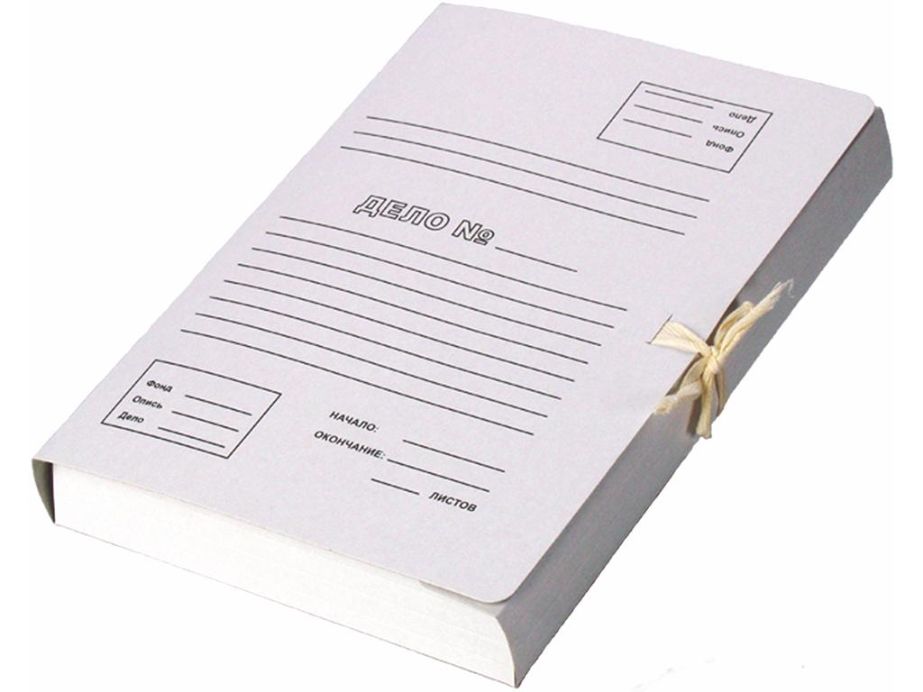 Архивная папка с завязками А4