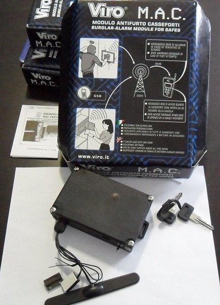 GSM сигнализация для сейфа
