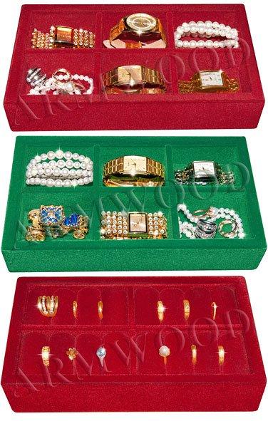 Лоток для хранения часов и ювелирных изделий