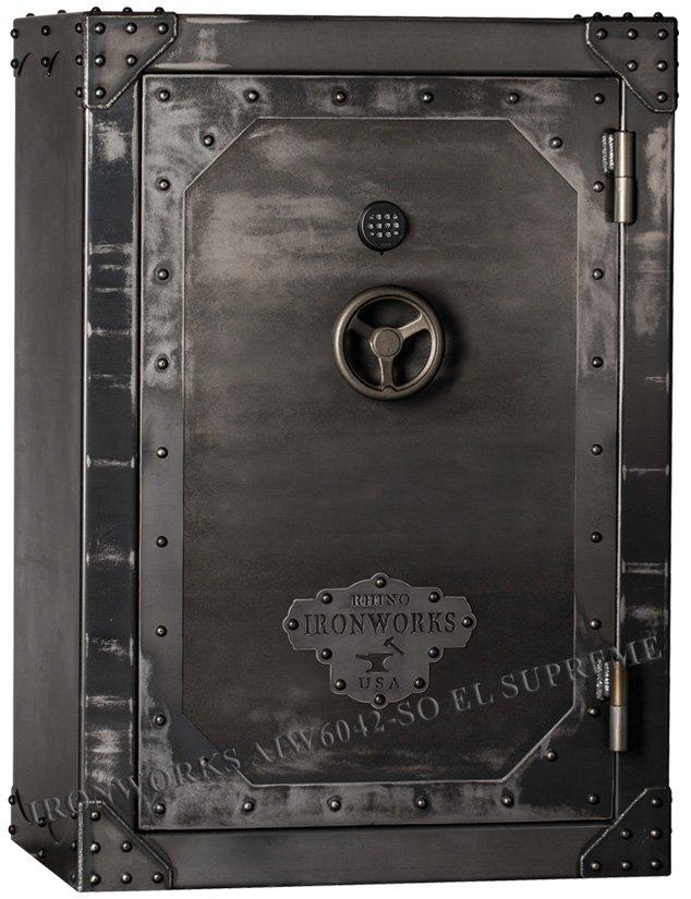 Эксклюзивный оружейный сейф Rhino Ironworks® AIW6042-SO EL Supreme
