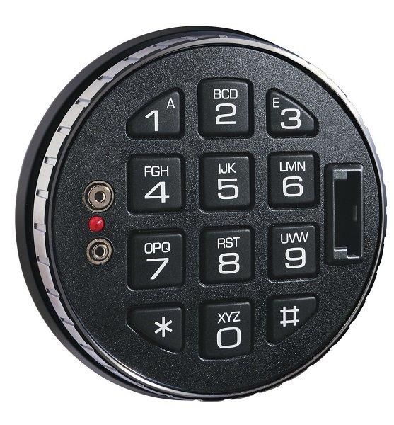 Клавиатура La Gard 3125 с комп.разъемом (поворотная)