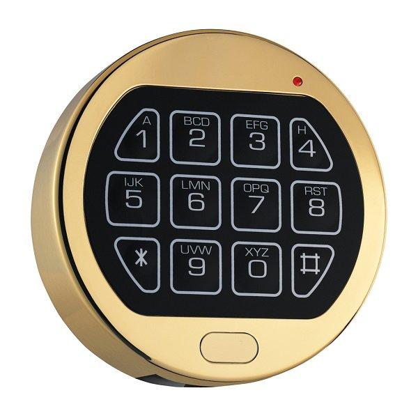 Клавиатура La Gard 3750 Gold (поворотная)