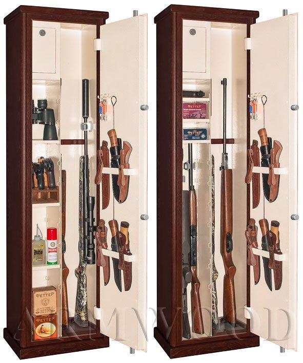 Оружейный сейф в дереве Armwood 524 EL Primary.