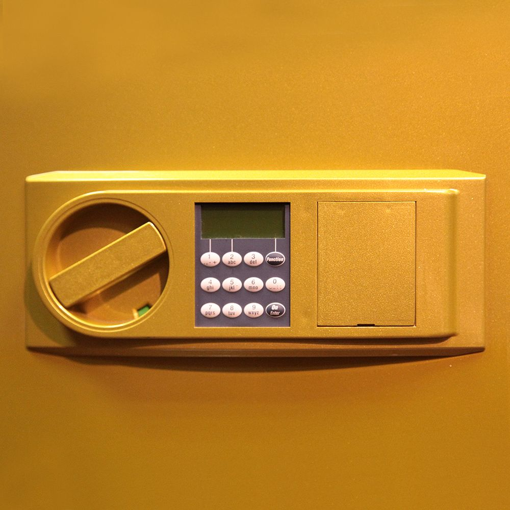 Сейф MTD 48 E lak (желтый)