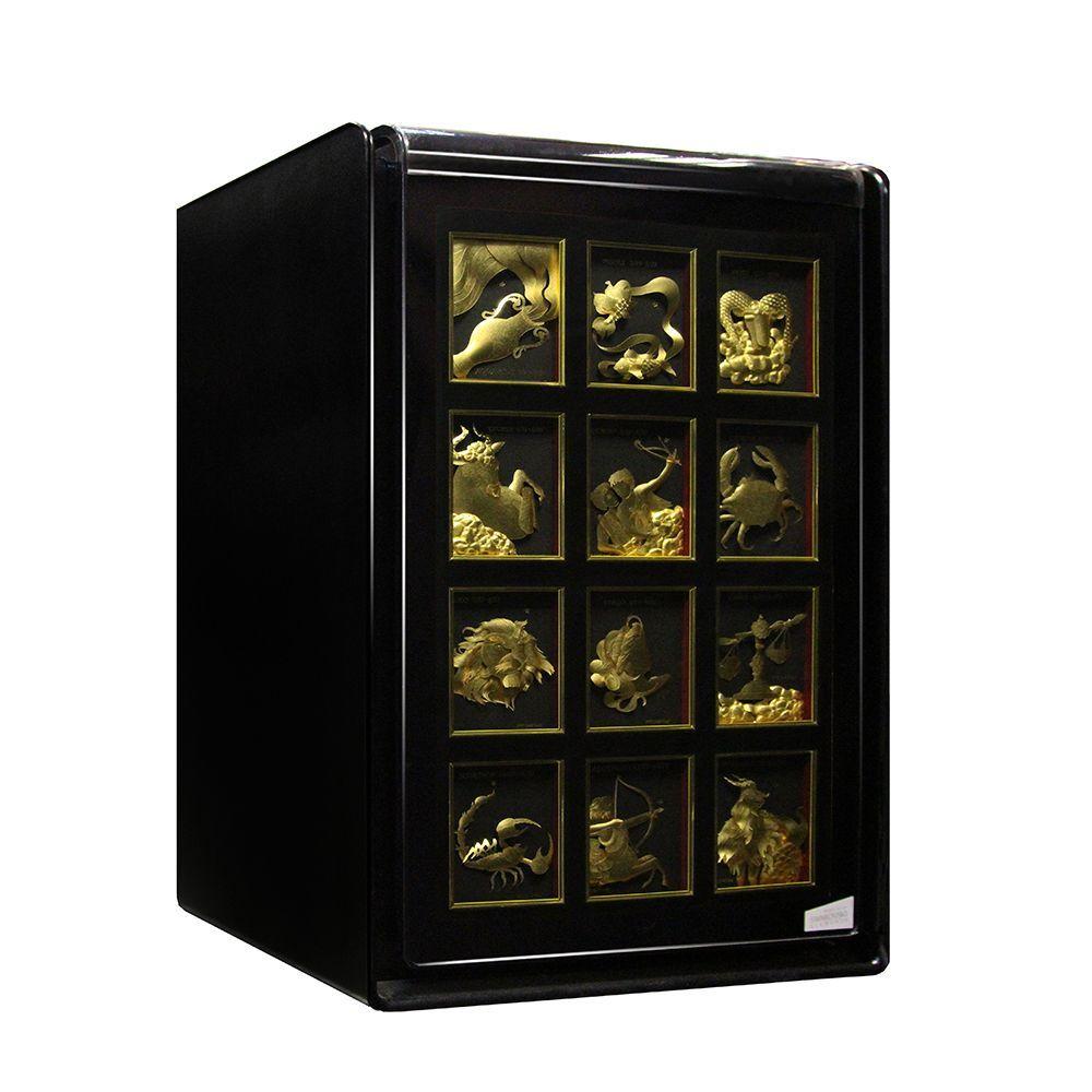 Сейф LU-2000BN#GOLD Знаки Зодиака