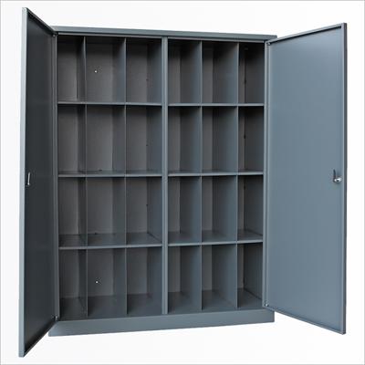 Шкаф для противогазов двух створчатый 24 ячейки