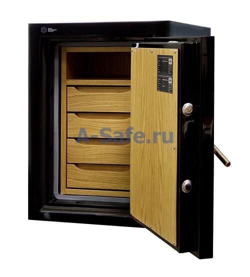 Ювелирный сейф с внутренней отделкой на заказ